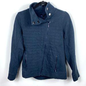 Lululemon Cotton Asymmetrical Collared Jacket